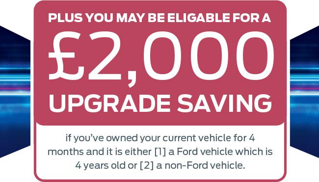 £2000 Upgrade Saving